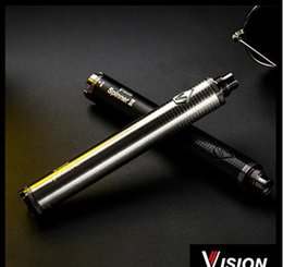 Wholesale Green Spin - HOT Vision Spin 2 II 1300mAh Ego twist 3.3-4.8V vision2 variable voltage vv battery e cigs Electronic cigarette battery