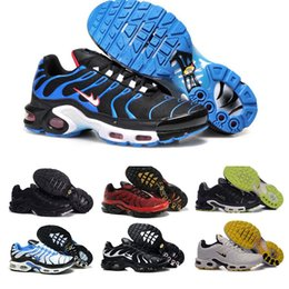 Wholesale Spring Mens Outdoor Sports - Original TN Air Shoes Mens And Womens Running Shoes Air Plus TN Ultra Shoes Sports TN Requin Sneakers 36-46