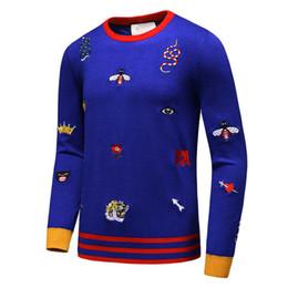 Wholesale Black Brown Cashmere Sweater - Brand sweatshirts men's hoodie 2017 new alphabet printing crew neck fashion comfort cotton Causual man sweaters
