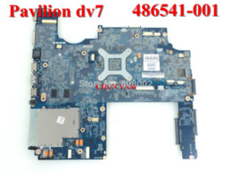 Wholesale Laptops Motherboard For Sale - HOT SALE 486541-001 laptop motherboard for HP Pavilion DV7 DV7-1000 Notebook PC mainboard 100% working perfect 90 Days Warranty