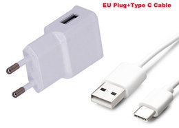 Wholesale types cell phones cables - 2A EU Plug Wall Cell Phone Charger Portable Travel Mobile Phone Charger+Type C USB Data Cable For LG G5 SE G5 Lite H840,G5 H830,Nexus 5X
