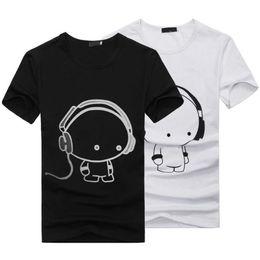 Wholesale Best Cheap Wholesale Shirt - Wholesale-HOT 2016 New Summer Women Ladies Casual Cute Cartoon Print Funny T Shirt Soft Cotton Couple Clothes Best Friends Tshirt Cheap Z1