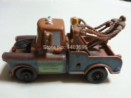 Wholesale Tow Mater Diecast Car - Pixar Cars Tow Mater Metal Diecast Toy Car 1:55 Loose Brand New In Stock &
