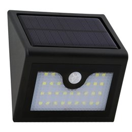 Wholesale Solar Indoor Emergency Portable Light - Brand New 28 LED Solar Light Outdoor Infrared Motion Sensor Wall Lamp Waterproof Garden Patio Yard Steet Emergency Solar Lamp