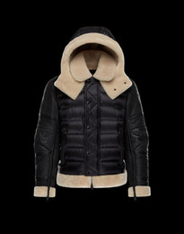 Wholesale Short Down Jacket Hood - New Hot Slas Winter Down Jacket Men Mon*ler 2017 Mens Winter Jackets and Coats Doudoune Homme Hiver Marque Mens Down Jacket With Hood