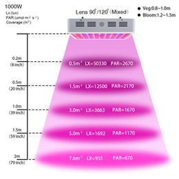 Wholesale Grow Double - Double Chips 1000W LED Grow Light 380-730nm Full Spectrum LED Plant Grow Light For Indoor Plants Flowering and Growing