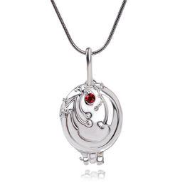 Wholesale vintage vampire - The Vampire Diaries necklace Elena Gilbert vintage vervain verbena pendant jewelry for men and women wholesale 161161