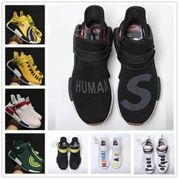 Wholesale Blue Shark Size - 2017 Hot Sale NMD EOOOCX Pharrell Williams PW Boost Shark XR1 Duck Camo Birthda Human Race Fashion Casual Sports Running Shoes Size 40-45