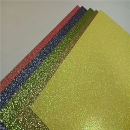 Wholesale Wedding Invitation Sky Blue - American crafts glitter cardstock paper card stock invitations
