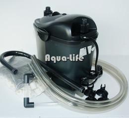 Wholesale Cyclone Bags - RESUN CY-20 3W 200L H Cyclone Mini Aquarium External Canister Filter For 60L Fish Tank w  2 Bags Filtration Media AC220-240V