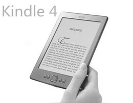 Wholesale Kindle Book Reader New - Wholesale-kindle,4,e book,ebook reader,electronic book,e-ink,167ppi,16 grade, 2GB,e BOOK reader,95% new, free shipping