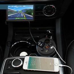 5 V 3.1A Fincan Araç Şarj Tutucu Araç Çakmak Adaptörü iphone 6 s Samsung S7edge ipad için şarj Soket cep telefonu nereden telefon tutacağı çakmak tedarikçiler