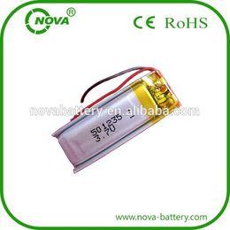 Полимерный литиево-ионный аккумулятор онлайн-литий ионная аккумуляторная батарея 3.7 V 170мач литий-полимерная батарея 501235 литий-полимерный аккумулятор