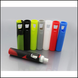 Wholesale Joyetech Cases - Colorful Joyetech eGo Aio Silicone Case eGo Aio Rubber Sleeve eGo Aio Protective Cover for eGo Aio Starter Kit DHL Free