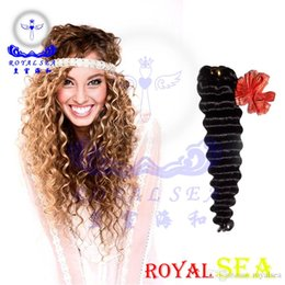 Wholesale Dhgate Express - Royal Sea Hair DHgate Express Made In China Supplier Human Hair Extension Remy Shiny Hair