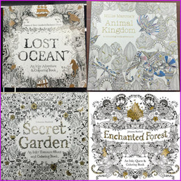 Secret Garden Coloring Books Relieve Stress For Kids Adult Fantasy Dream Painting Drawing Kill Time Book 25cm X UK