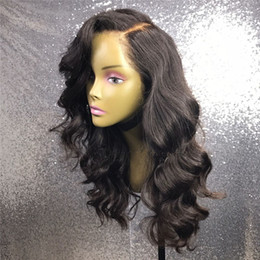 Wholesale Online Cheap Lace Front - Full Lace Wigs Natural Color Body Wave For Ladies Cheap Price Good Quality Brazilian Hair Lace Wigs Selling Online