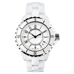 Wholesale Luxury Brand Lady White Black Ceramic Watches High Quality Quartz Wristwatches For Women Fashion Exquisite Women Watches
