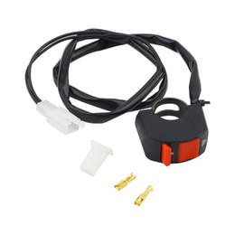 Wholesale Motorcycles Switch - Universal 12V Motorcycle Handlebar Accident Hazard Light Switch ON OFF Button