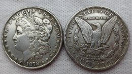 Wholesale Hot Living - Hot Selling US Coins 1878-cc Morgan Dollar Promotion Cheap Factory Price nice home Accessories Silver Coins