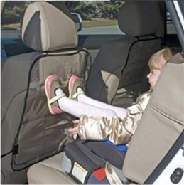 Wholesale Back Seat Covers For Cars - Newest Car Auto Seat Back Protector For Kids Children Kick Mat Mud Cleaner For Baby Dogs From Mud Dirt Black&Blue F731-1