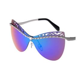 Wholesale Car Sunglasses Case - 2016 New Fashion Sunglasses Women Brand Designer Sun Glasses Vintage Eyewear Cheap eyewear titanium High Quality glasses case for car