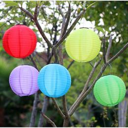 Wholesale Solar Lantern Fairy Lights - Wholesale-Landscape Lighting Garden Waterproof outdoor solar fairy lights LED festival lanterns hanging China celebration lamp 7colors