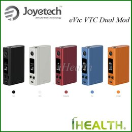 Wholesale Best Joyetech Wholesale - Joyetech eVic VCT Dual Mod Compatible with Single Dual 18650 Cells Best Match for Ultimo Tank 100% Original