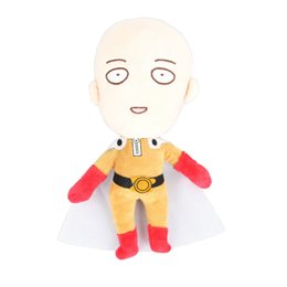 "Wholesale Wholesale Japan Anime Collection - Wholesale-9"" Japan Cosplay Anime One Punch Man Saitama Plush Toy Stuffed Doll Gift Collection"