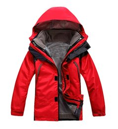 Wholesale Sport Pieces Boys - Boys and girls winter outdoor sports jacket waterproof windproof breathable warmth mountaineering camping-piece ski suit jacket