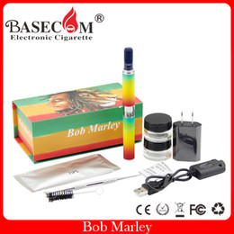 Wholesale E Cigarette Pcs - 1 PCS! Snoop dogg Bob Marley dry herb vaporizer herbal kit pen kits e cigarette snoop dogg g pro vape