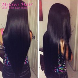 Wholesale Rosa Hair Products - 8A Mink 100% Human Hair Weave Peruvian Brazilian Virgin Hair Straight 4 Bundles Deal Rosa Hair Products Unprocessed MalaysianVirgin Bundle