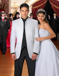 Wholesale Mens Complete Suits - Wholesale-High Quality Mens Suits (jacket+Pant+Vest+Tie) Complete Designer Groom Tuxedo Bridegroom Groomsmen Wedding