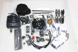 Wholesale Motor Control Boards - Wholesale-F03813-A Platypus X800-V6 Carbon Fiber Hexacopter Frame Kit +QQ SUPER Control board+1000KV Motor+30A ESC+1045 Propeller+TX&RX