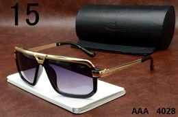 Wholesale Men S Sun Glasses - Cazals Sunglasses 4028 Womens Mens Fashion Brand Small Frames Cazals Sun Glasses Black Brown White Luxury Eyewears Uv400 s