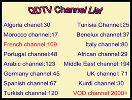 Wholesale Channel Movies - QHDTV IPTV Subscription French Netherlands Portuguese Channel m3u VOD Movie UK Italy Arabic Turkey Spain Germany Sports Europe Account APK