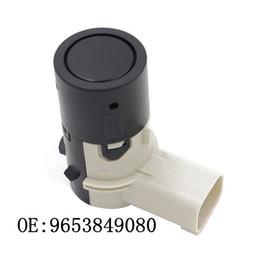 2019 sensores de estacionamento oem 1 par de autopeças oem 9653849080 7701062074 sensor de estacionamento pdc para peugeot 207 207cc car ultrasonic sensor 9653849080 melhor qualidade sensores de estacionamento oem barato