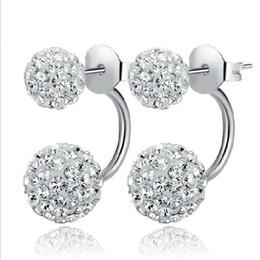 pendientes de imitación de enchufe Rebajas Shambhala pendientes de diamantes de las mujeres al por mayor de la princesa micro características del diamante pendientes del perno prisionero mujeres joyería del regalo de la señora envío libre