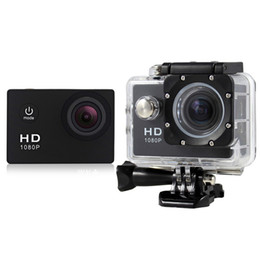 Wholesale Cheapest Car Lcd - Cheapest Sport Camera 1080P HD Action Camera SJ4000 style 30M waterproof 1.5 inch LCD 5MP Car DVD recorder