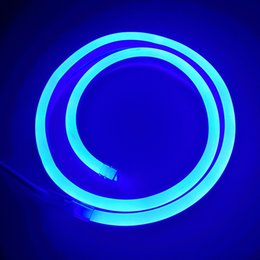 Wholesale Wholesale Led Neon Rope Lights - AC110 AC220V SMD2835 14X26MM LED Neon Flex Strip Light 5.5W 6W LED Neon Rope Light 90LEDS 120LEDS LED Neon Light