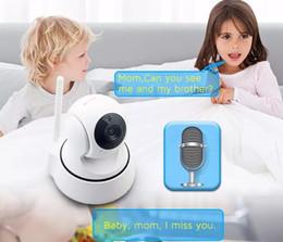 Wholesale Monitor Surveillance - HD Home Security WiFi Baby Monitor 720P IP Camera Night Vision Surveillance Network Indoor Baby Cameras