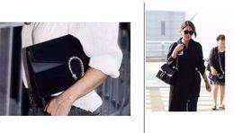 Wholesale red flower knitted - high quality~w333 genuine leather matte chain strap shoulder bag luxury designer burgundy grey beige red black