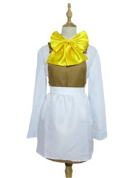 Wholesale Vocaloid Cosplay Custom - Vocaloid 2 Cosplay Alice of Human Sacrifice Rin Kagamine Costume