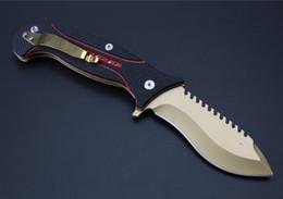 Wholesale Titanium Folding Pocket Knife - TODD BEGG Wolverin Titanium D2 G10 Tactical Hunting Knife Multi Tools Pocket Survival Knives camping hunting folding knife 1pcs