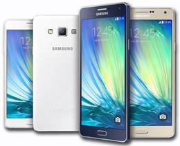 Deutschland Unlocked Refurbished Ursprünglicher Samsung Galaxy A7 A7000 Doppel-SIM-Handy Octa Core 2GB / 16GB 5,5 Zoll 13MP 4G LTE geben DHL frei Versorgung