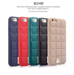 Wholesale Iface Shockproof Iphone Case - 2016 New Iface Armor lattice 360 TPU+Metal 360degree shockproof back Cover For Apple iPhone6 6S  6S plus iface mobile phone case