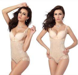 Cuerpo de corsé mágico online-Lady Sexy Corset Slimming Suit Shapewear Body Shaper Magic Underwear Bra Up Nuevo