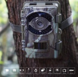 Wholesale Trail Scouting Camera - New Item 16MP WILDLIFE SCOUTING CAMERA 1080P@30FPS 850nm and 940nm LEDs Big Eye D3 Trail Camera