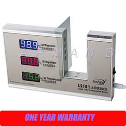 Wholesale Solar Transmission Meter - LS181 Solar Film Window film Transmission Meter UV IR Rejection Visible light transmission