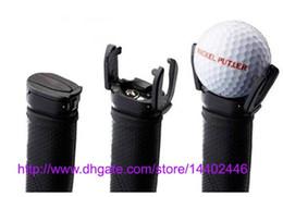 Wholesale Golf Ball Pick Up Wholesale - 1000pcs lot 2015 New Golf Ball Pick Up Ultimate Ball Retriever Hot! Putter Grip Saver Claw Pick Up Back Put On Retriever Grabber free ship